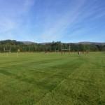 rugby pitches and players
