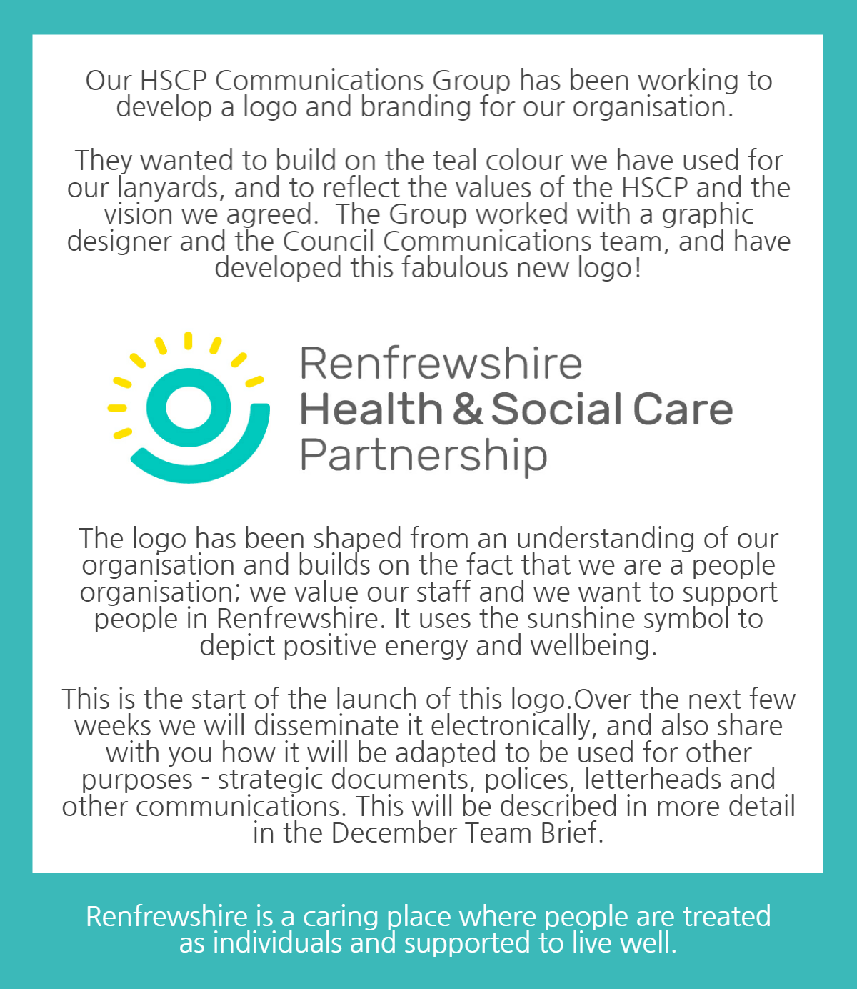 Renfrewshire HSCP